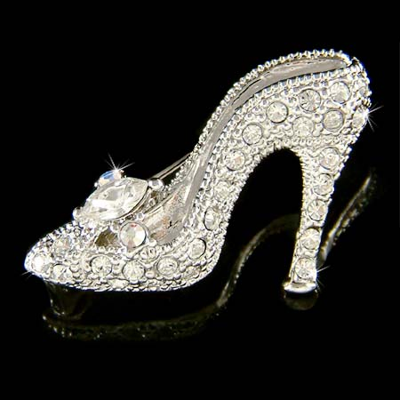 cinderella glass slipper | eBay