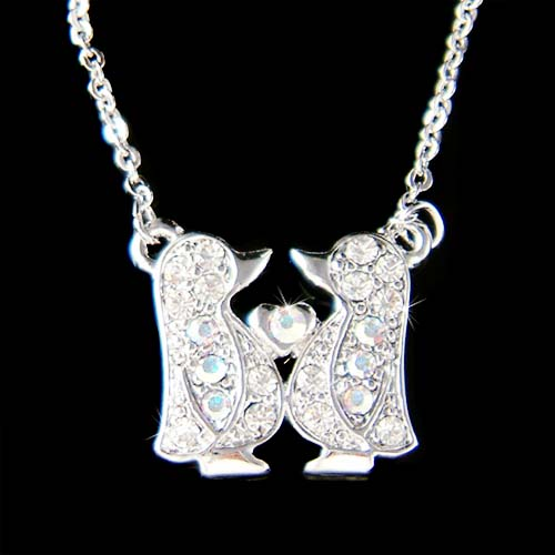 Penguin Family Necklace